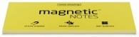 Staattinen viestilappu Magnetic Notes  100x200mm/100 keltainen