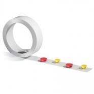 Metalliteippi Durable 5m x 35mm valkoinen  magneettipinnalla