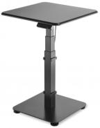 Sähköpöytä GetUpDesk Single 600x600mm  musta