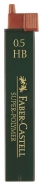 Irtolyijytuubi Faber-Castell 0,5mm HB