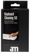 Näppäimistön puhdistuspyyhe AM Keyboard  Cleaning 50kpl/pkt