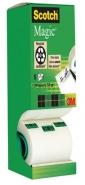 Asiakirjateippi Scotch Magic 810 hyllypakkaus 19mm x 33m 8rll/pkt