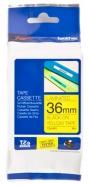 Brother P-touch-teippi TZe-661 36mm x 8m  musta/keltainen