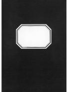 Konttorikirja A4/288 ruudut 7x7mm musta