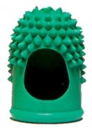 Sormikumi leikattu kärki vihreä 12mm  10kpl/pkt