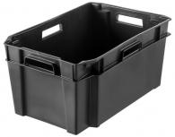 Varastolaatikko Orthex 38 litraa musta