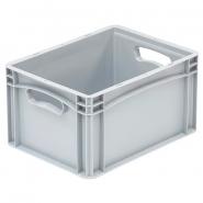 Kantolaatikko 21 litraa 400x300x200mm  harmaa