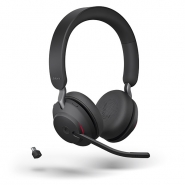 Jabra Evolve2 65 Link380C MS Stereo Headset  langaton musta