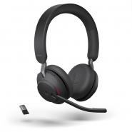 Jabra Evolve2 65 Link380A MS Stereo Headset  langaton musta