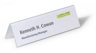 Nimikylttiteline Durable 210x61/122mm  pöydälle 25kpl/pkt