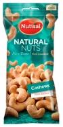 Cashewpähkinä Nutisal Natural Nuts 60g  suolaamaton 14pss/ltk