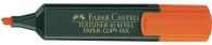 Korostuskynä Faber-Castell Textliner 48  oranssi