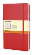 Moleskine Large Ruled Notebook -muistikirja  punainen