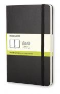 Moleskine Large Plain Notebook -muistikirja  musta