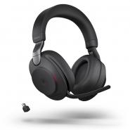 Jabra Evolve2 85 Link380C MS Stereo Headset  langaton musta
