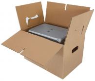 Muuttolaatikko kantokahvoilla 560x330x406mm