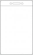 Nimikorttitasku 60x90mm kirkas pystymalli  käyntikorttikoko