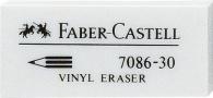 Pyyhemuovi Faber-Castell 7086-30 valkoinen  30kpl/pkt