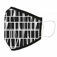 Kangasmaski Finlayson Coronna Design  mustavalkoinen