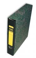 Kotelomappi Merca A4 4cm musta