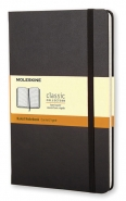 Muistikirja Moleskine Large Ruled Notebook  musta