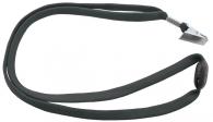 Kaulanauha CardKeep musta 90cm nipistimellä