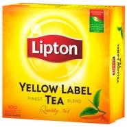 Lipton Yellow Label Tea 100pss/pkt