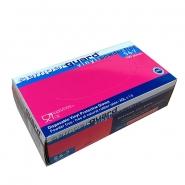 Kertakäyttökäsine Semperguard Vinyl PF7  puuteroimaton S 6-7 100kpl/pkt