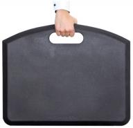 GetUpMat-seisomatyöpistematto tummanharmaa