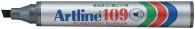 Huopakynä Artline 109 viisto 2-5mm musta