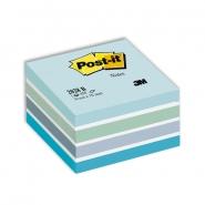 Viestilappukuutio Post-it 2028B 76x76mm/450  sininen pastelli