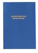 Ajopäiväkirja 187 A5 32 sivua  auton käyttöetu