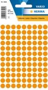 Merkintätarra pyöreä Herma 1844 8mm oranssi  540kpl/pkt