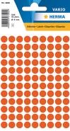 Merkintätarra pyöreä Herma 1842 8mm punainen  540kpl/pkt