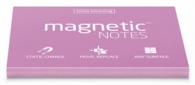 Staattinen viestilappu Magnetic Notes  70x100mm/100 pinkki
