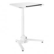 GetUpDesk One korkeussäädettävä seisomapöytä  valkoinen