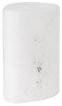 LED-lyhty Duni Pebble 140x100mm lasia valkoinen/marmori