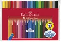 Huopakynä Faber-Castell Grip värilajitelma  20kpl/pkt