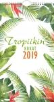 Seinäkalenteri Tropiikin kukat 2019 UUTUUS