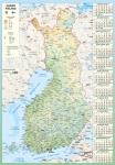 Seinäkalenteri Karttakalenteri 2019