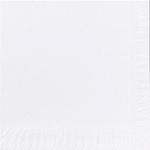 Lautasliina Duni 33x33cm 2-krs valkoinen  125kpl/pkt