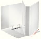 Projektikansio Esselte A4+ 25mm valkoinen 2-renkainen