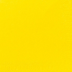 Lautasliina Duni 24x24cm 2-krs keltainen 300kpl/pkt
