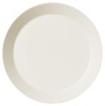 Teema Lautanen matala 23cm valkoinen
