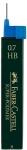 Irtolyijytuubi Faber-Castell 0,7mm HB