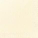 Lautasliina Duni 24x24cm 2-krs vanilja 300kpl/pkt