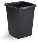 Roska-astia Durabin 90 litraa musta