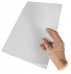 Muovitasku A4 PP 0,17 kirkas app 2 sivua auki