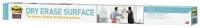 Valkotaulukalvo Post-it 0,914x1,219m  valkoinen