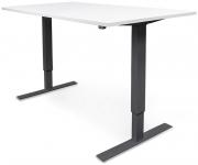 Sähköpöytä GetUpDesk Duo 1200x800mm valkoinen/musta
